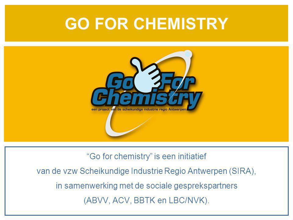 GO FOR CHEMISTRY Go for chemistry is een initiatief