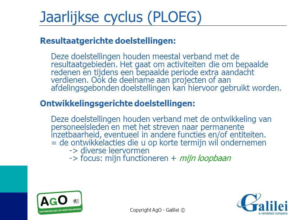 Jaarlijkse cyclus (PLOEG)