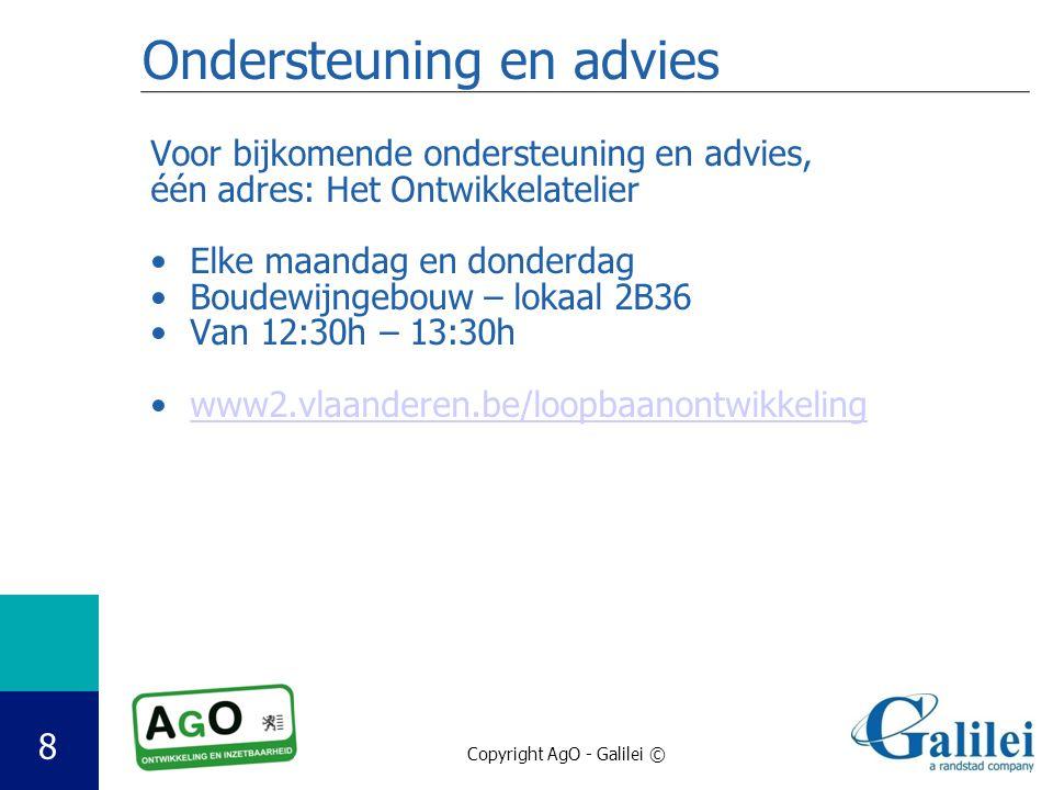 Ondersteuning en advies