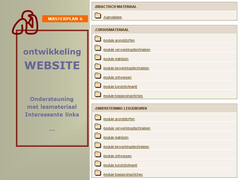 WEBSITE ontwikkeling Daniël Butaye Ondersteuning met lesmateriaal