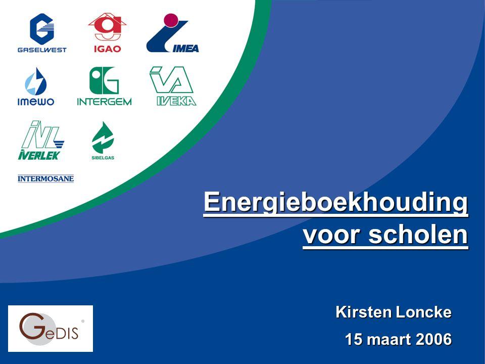 Energieboekhouding voor scholen