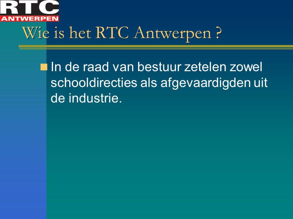 Wie is het RTC Antwerpen