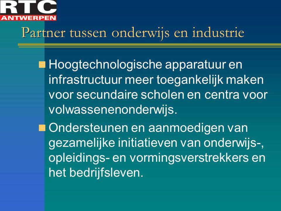 Partner tussen onderwijs en industrie