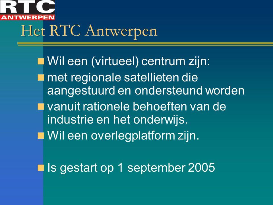 Het RTC Antwerpen Wil een (virtueel) centrum zijn: