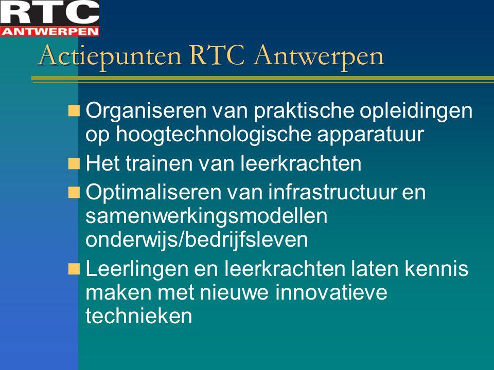 Actiepunten RTC Antwerpen