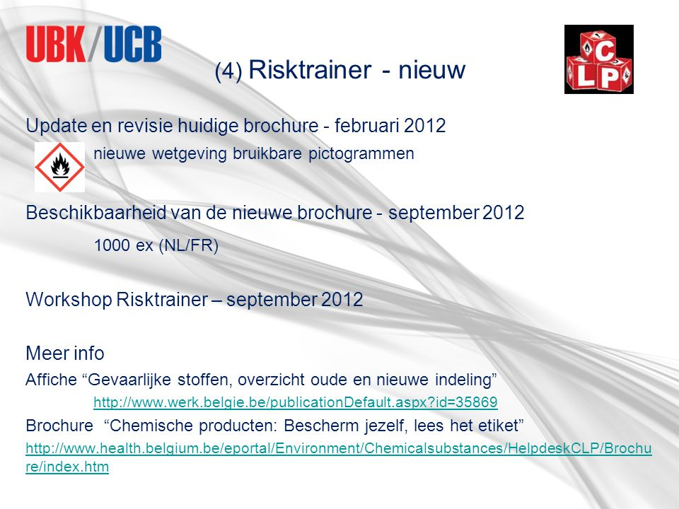 1000 ex (NL/FR) Update en revisie huidige brochure - februari 2012