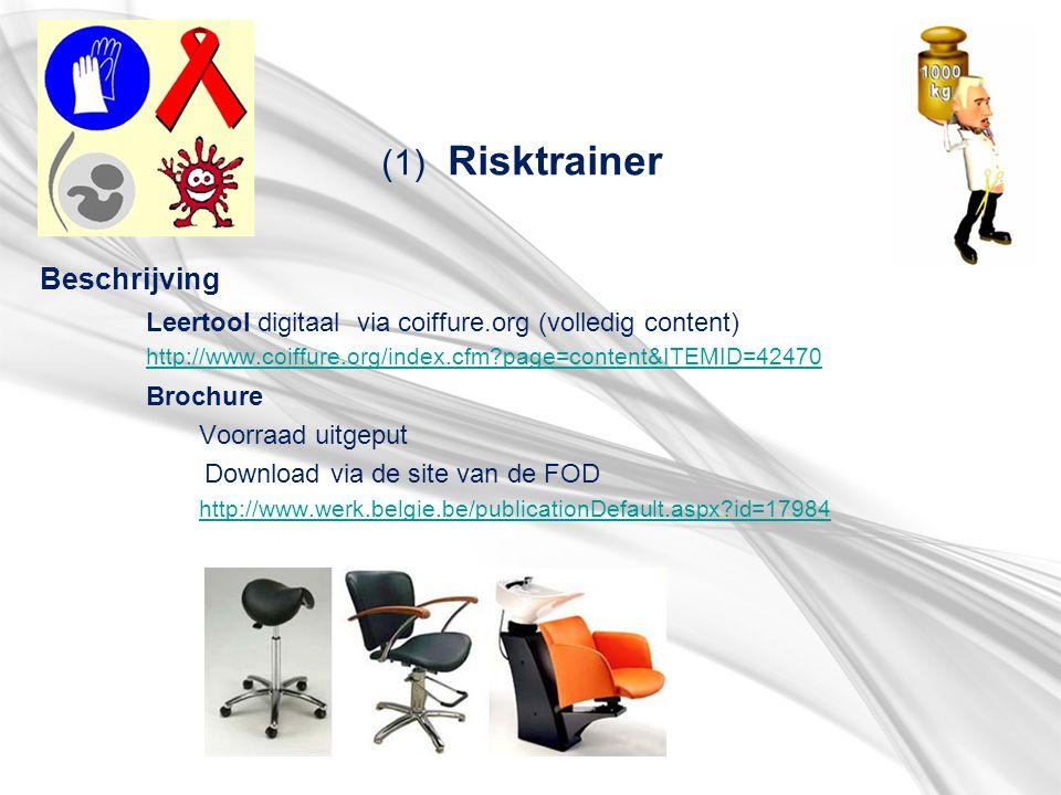 (1) Risktrainer Beschrijving