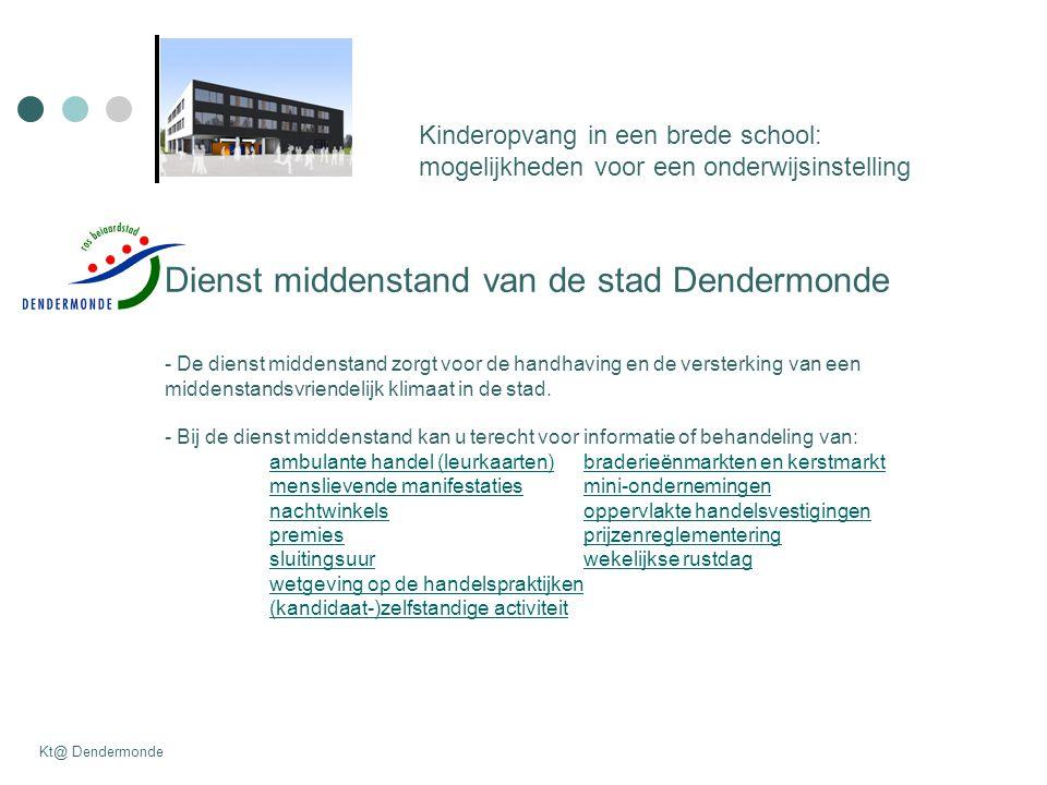 Dienst middenstand van de stad Dendermonde