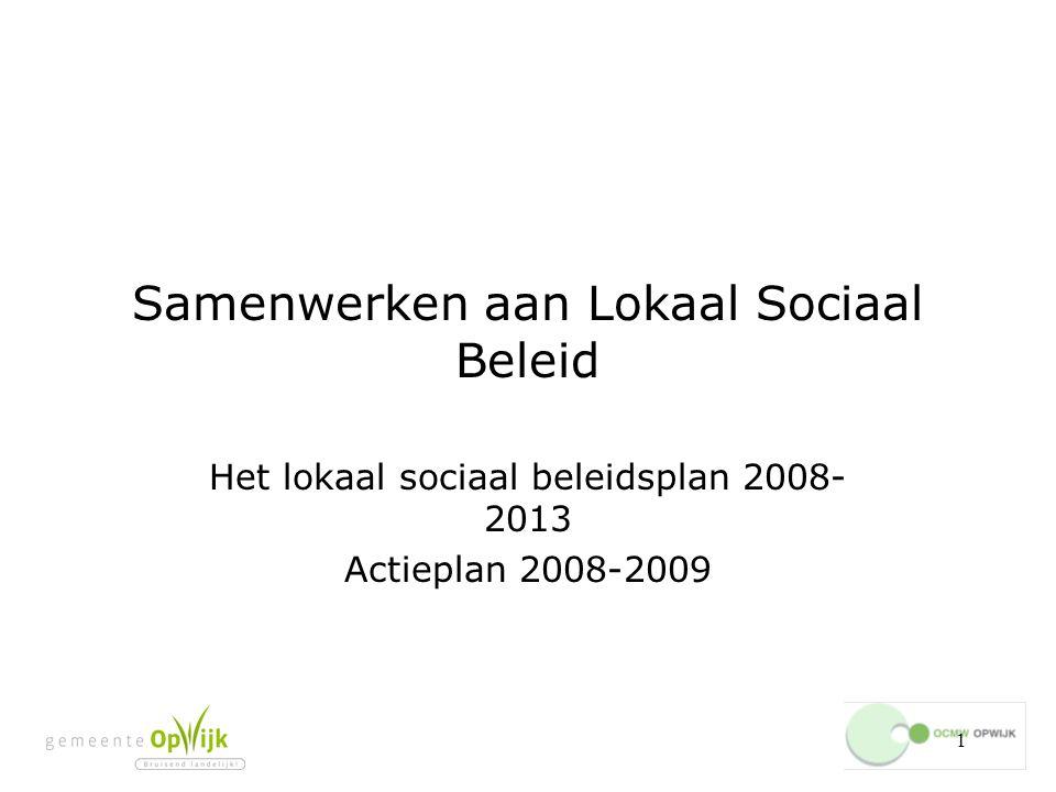 Samenwerken aan Lokaal Sociaal Beleid