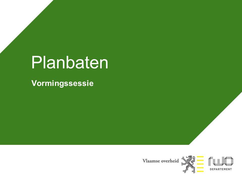 Planbaten Vormingssessie