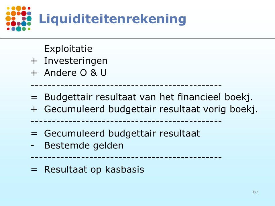 Liquiditeitenrekening