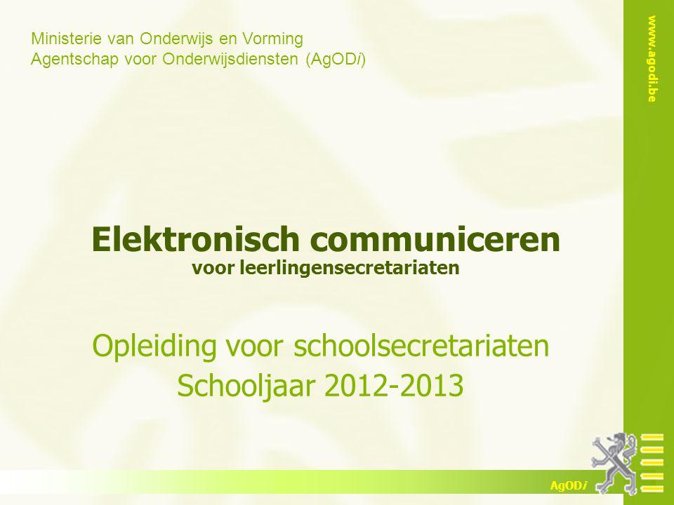 Elektronisch communiceren voor leerlingensecretariaten
