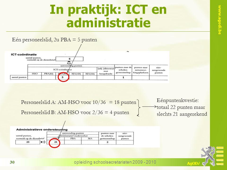 In praktijk: ICT en administratie