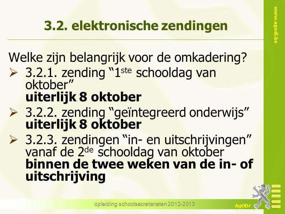 3.2. elektronische zendingen