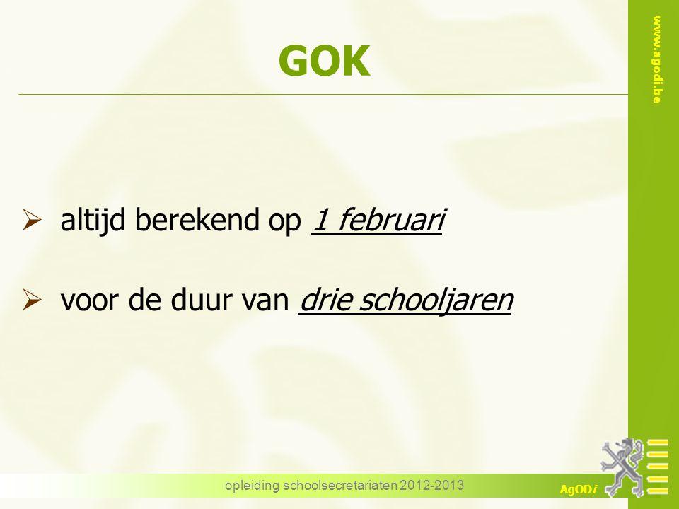 opleiding schoolsecretariaten 2012-2013
