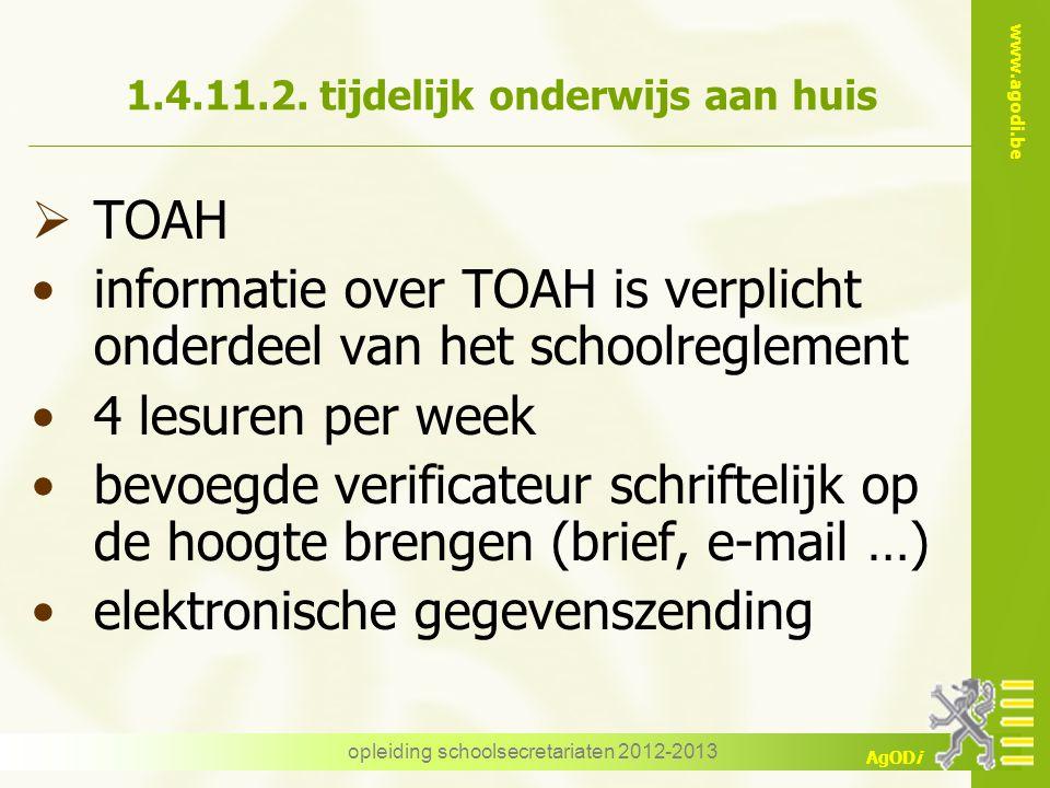 1.4.11.2. tijdelijk onderwijs aan huis