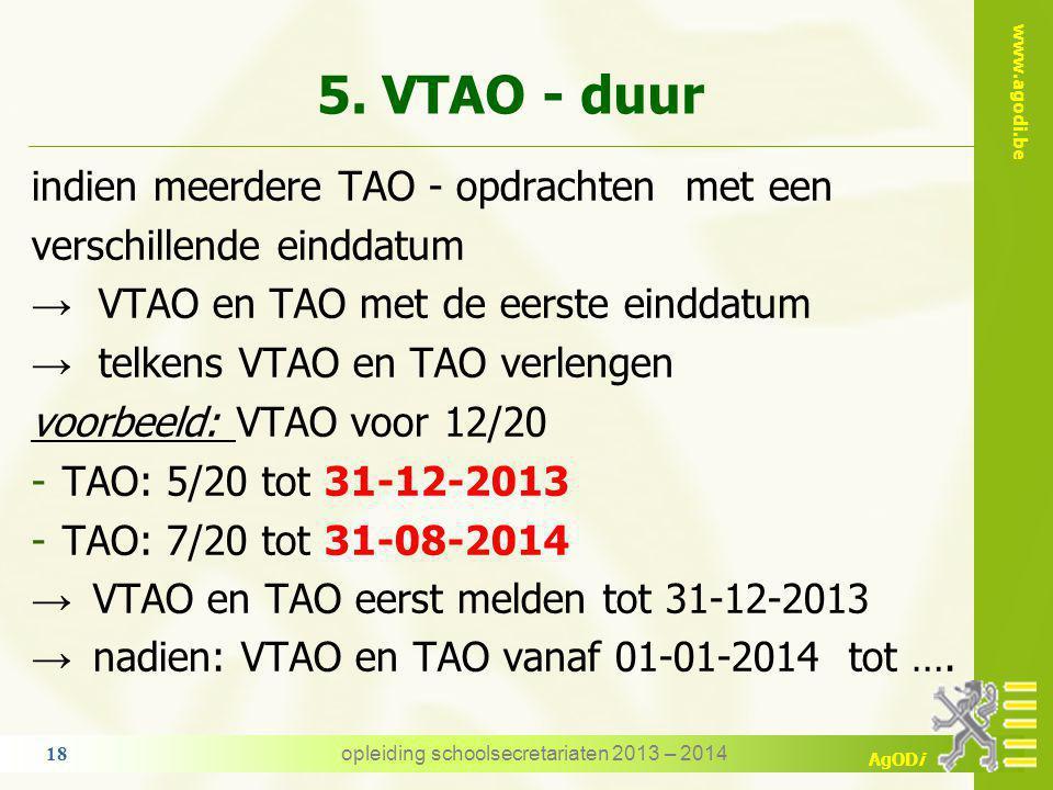 opleiding schoolsecretariaten 2013 – 2014
