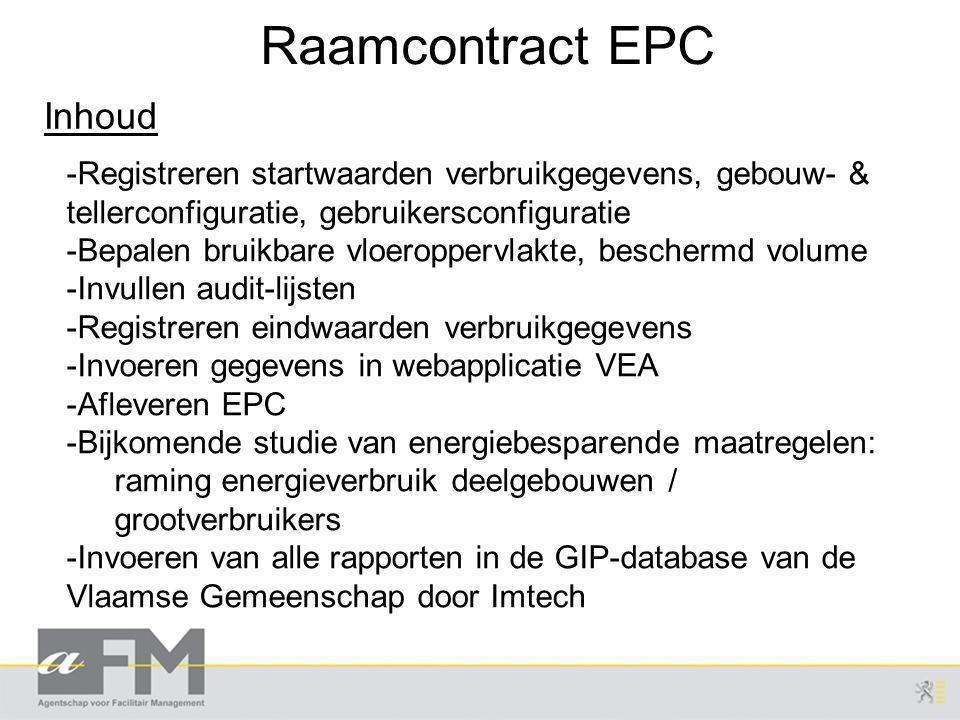 Raamcontract EPC Inhoud