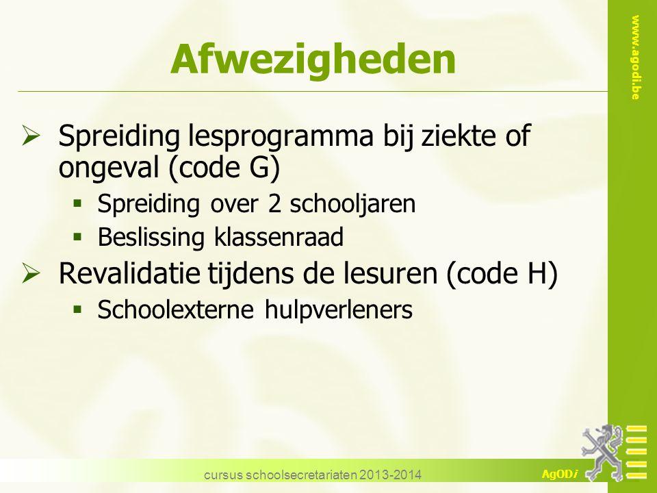 cursus schoolsecretariaten 2013-2014