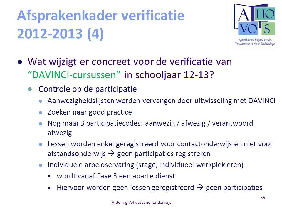 Afsprakenkader verificatie 2012-2013 (4)