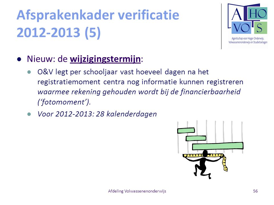 Afsprakenkader verificatie 2012-2013 (5)