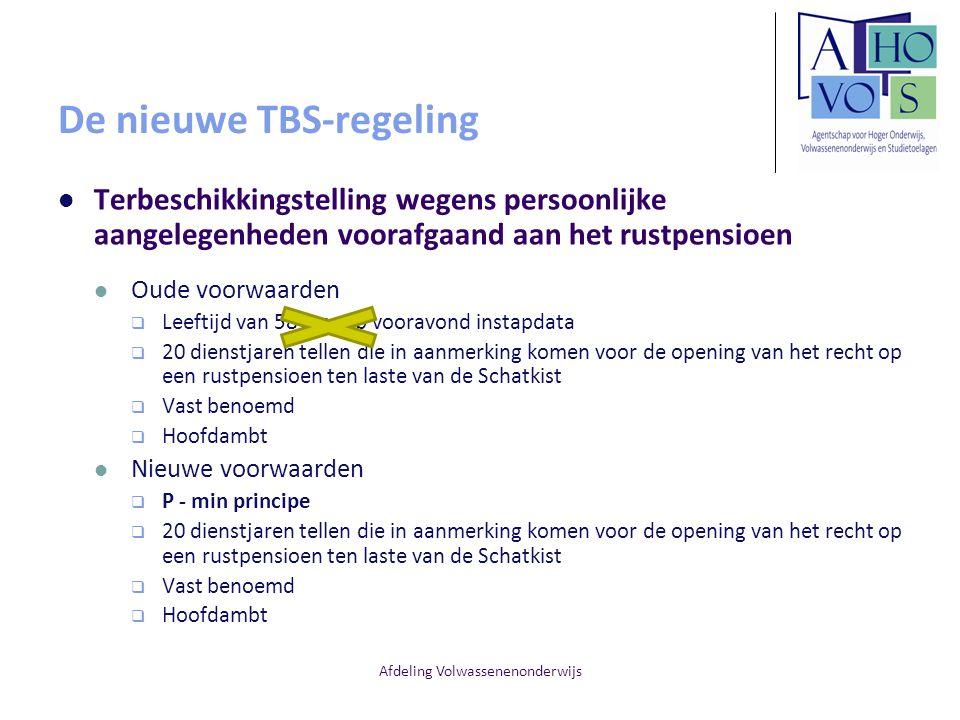 De nieuwe TBS-regeling
