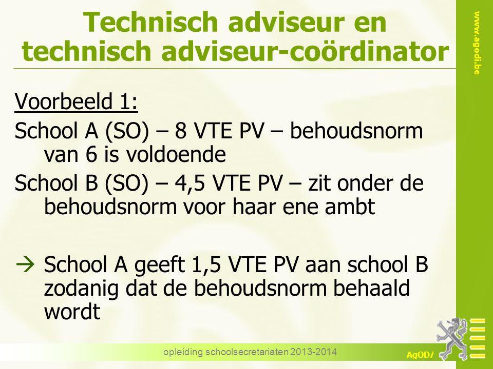 Technisch adviseur en technisch adviseur-coördinator