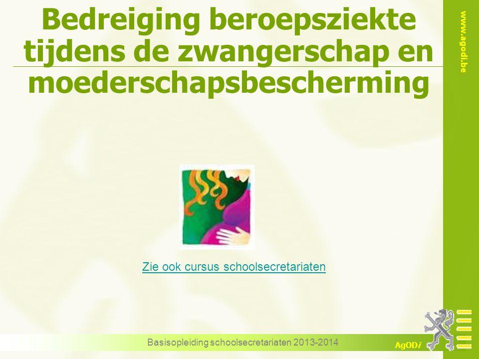 Basisopleiding schoolsecretariaten 2013-2014