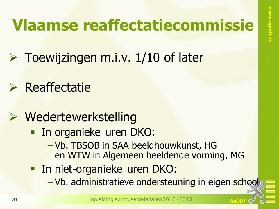 Vlaamse reaffectatiecommissie