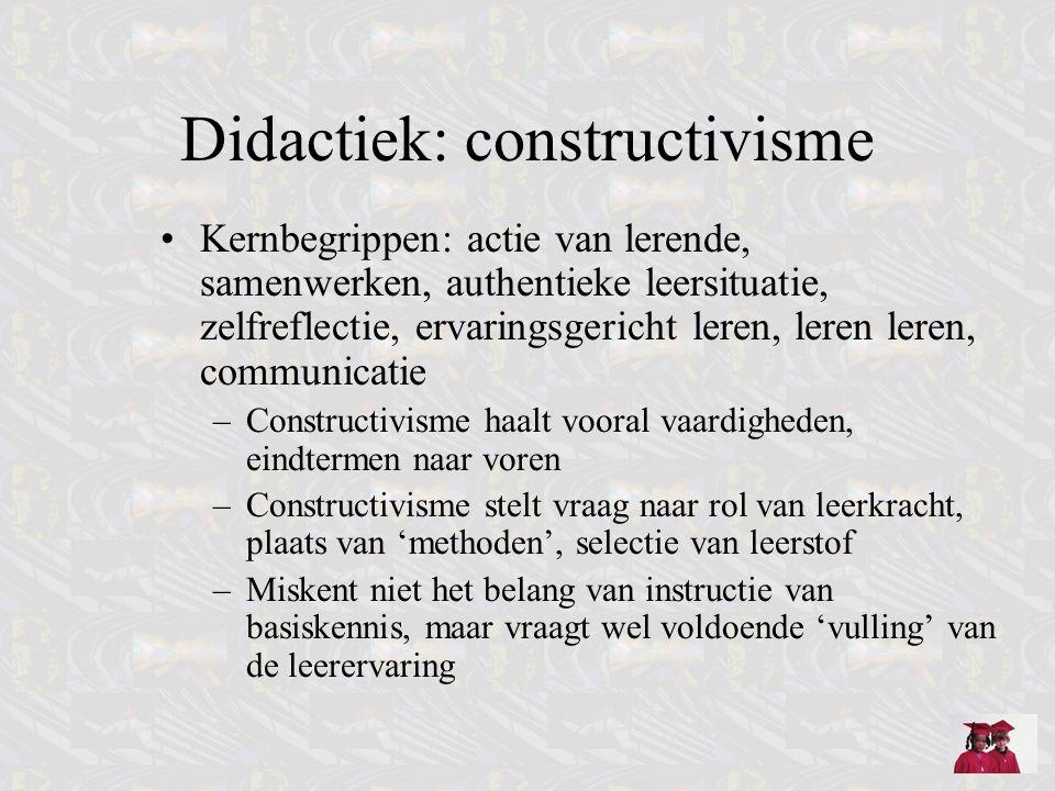 Didactiek: constructivisme