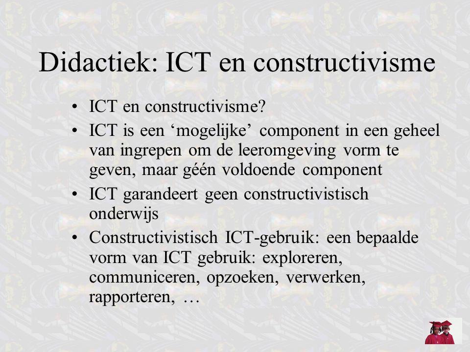 Didactiek: ICT en constructivisme