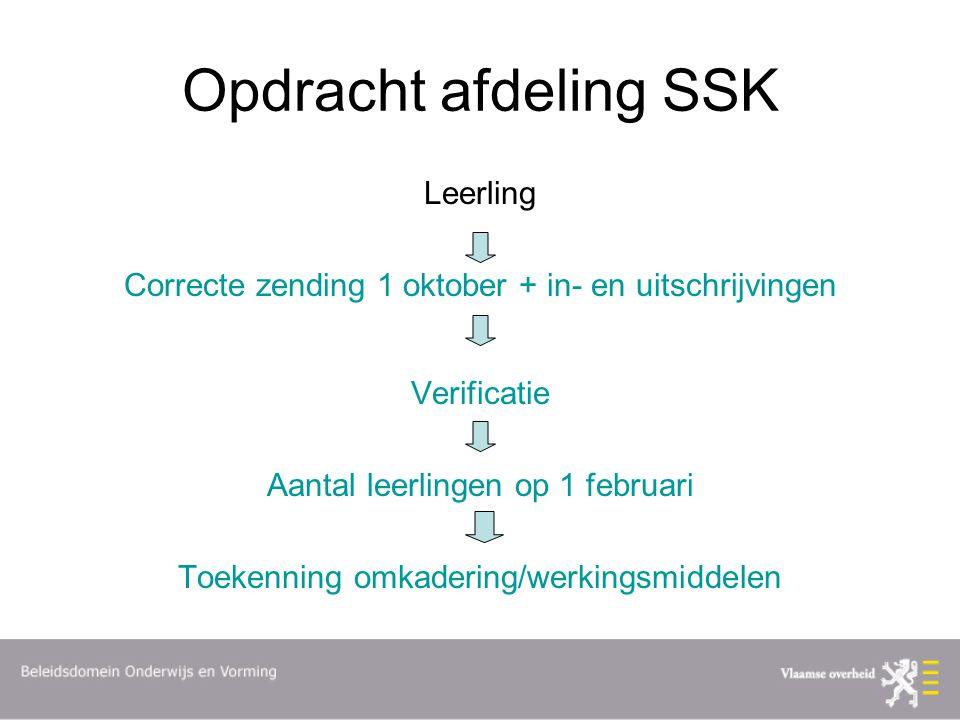 Opdracht afdeling SSK Leerling