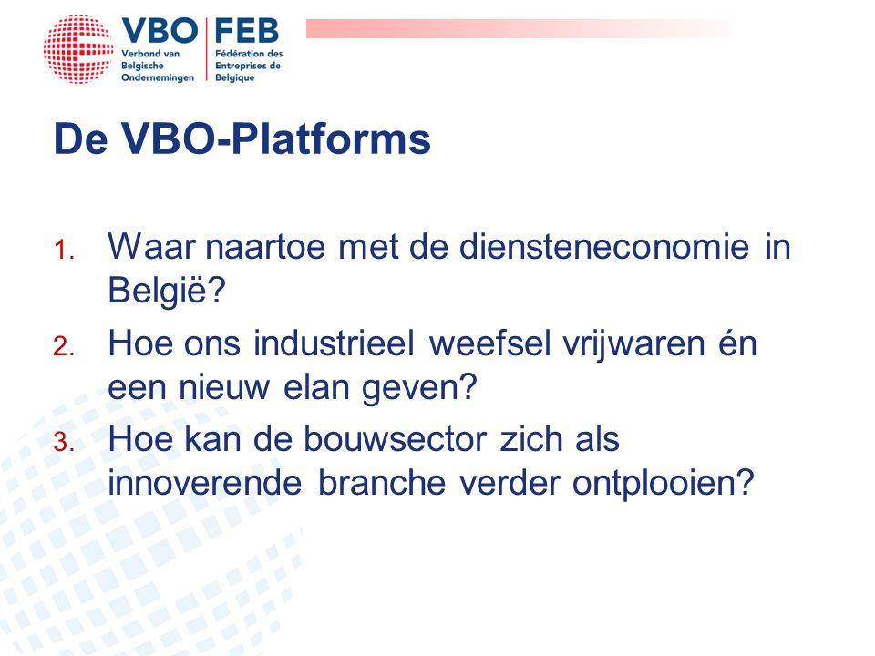 De VBO-Platforms Waar naartoe met de diensteneconomie in België