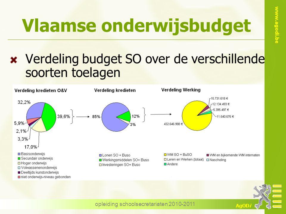 Vlaamse onderwijsbudget