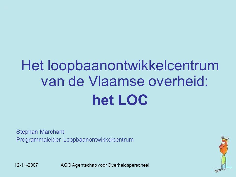 Het loopbaanontwikkelcentrum van de Vlaamse overheid: het LOC