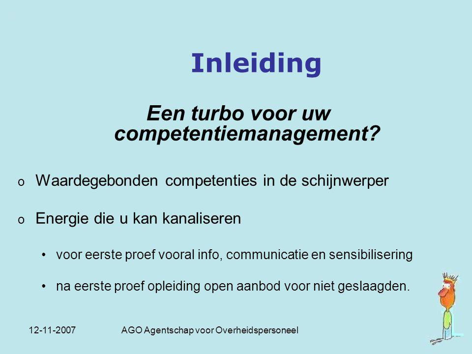 Een turbo voor uw competentiemanagement