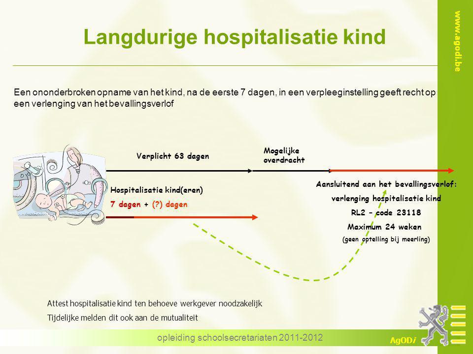 Langdurige hospitalisatie kind