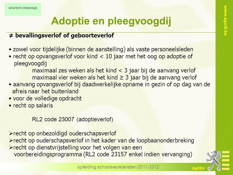Adoptie en pleegvoogdij