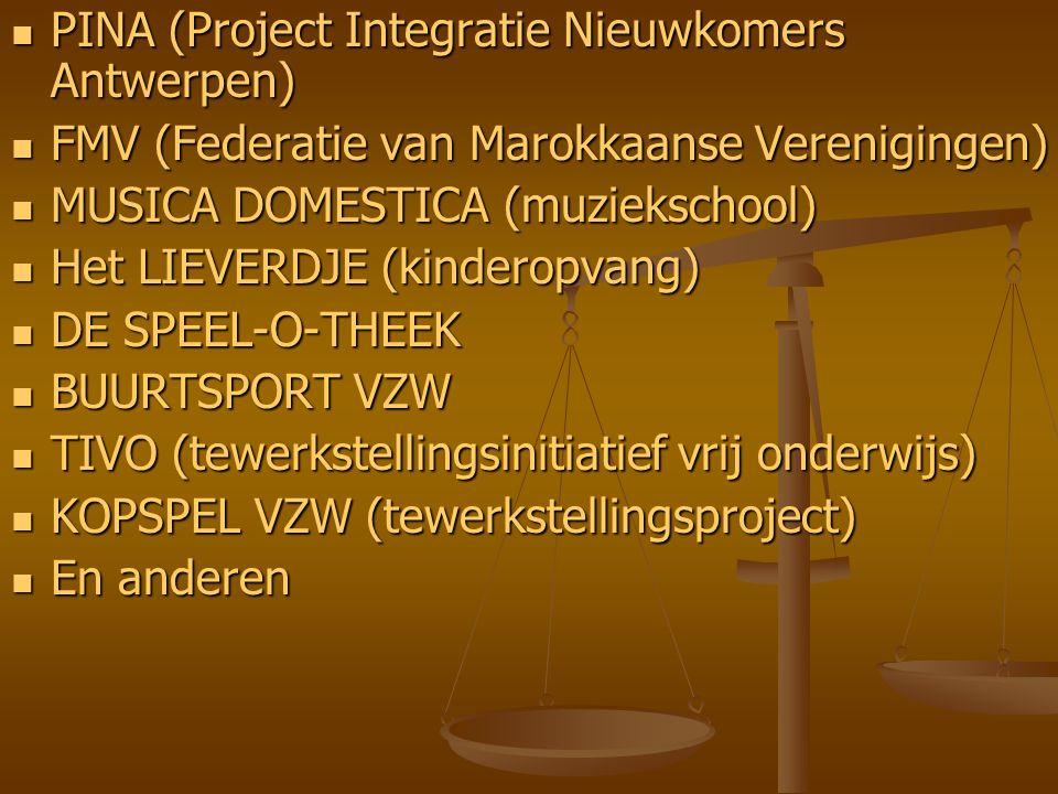 PINA (Project Integratie Nieuwkomers Antwerpen)