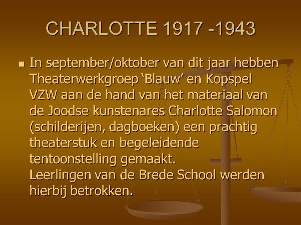 CHARLOTTE 1917 -1943