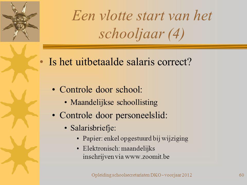 Een vlotte start van het schooljaar (4)