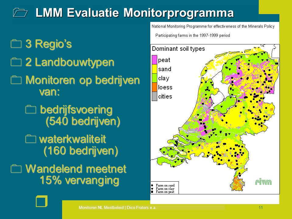 LMM Evaluatie Monitorprogramma