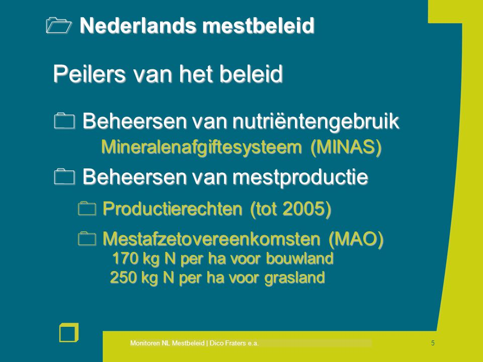 Nederlands mestbeleid