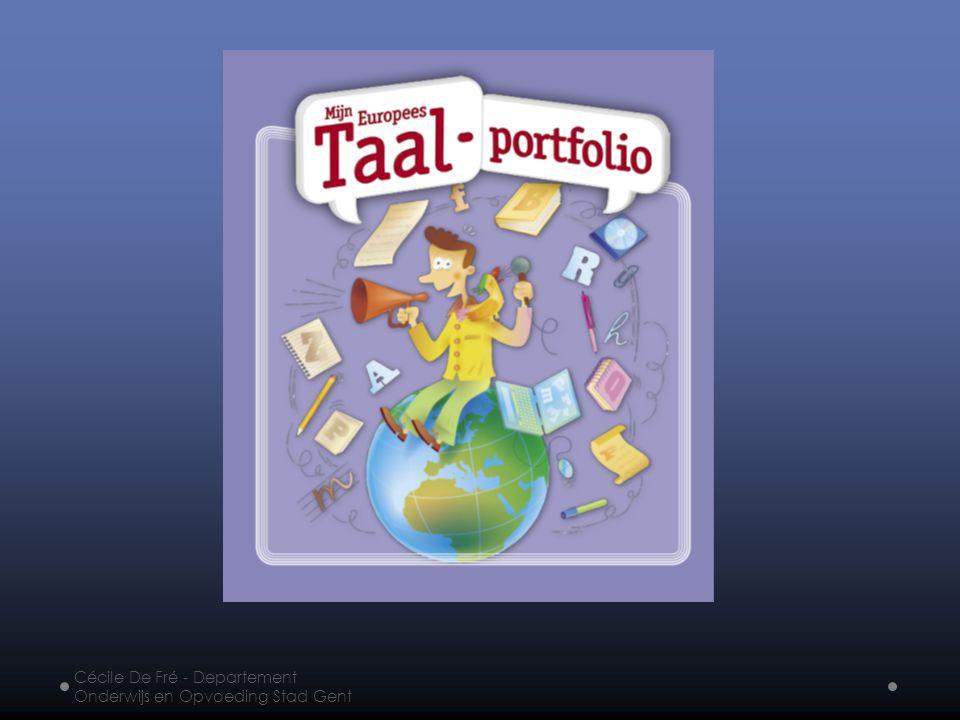 Het Europees taalportfolio ondersteunt de zin in vreemde talen