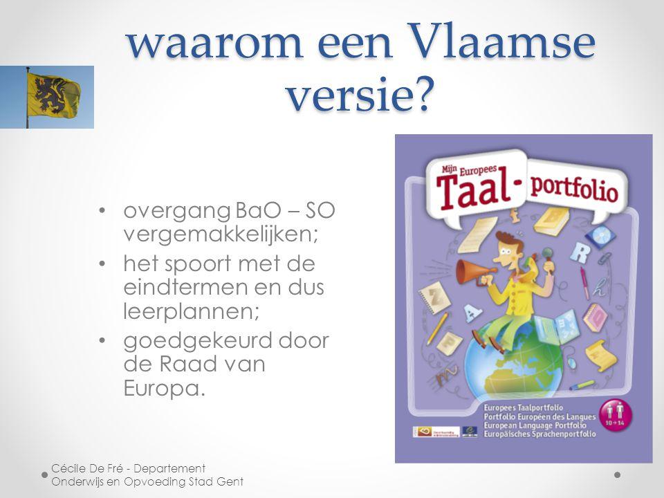 waarom een Vlaamse versie