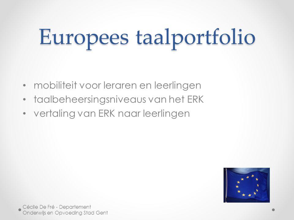 Europees taalportfolio