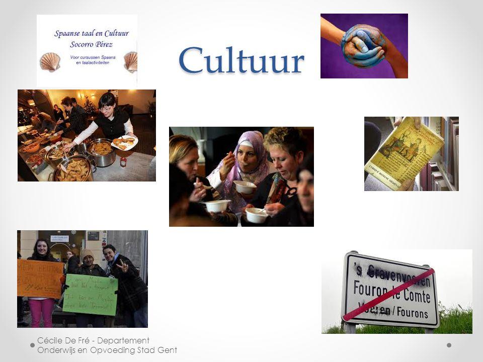 Cultuur Cécile De Fré - Departement Onderwijs en Opvoeding Stad Gent