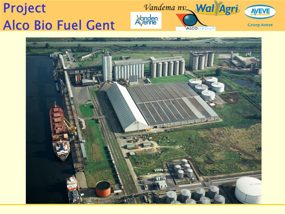 Project Alco Bio Fuel Gent