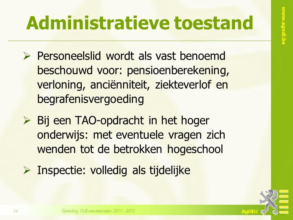 Administratieve toestand