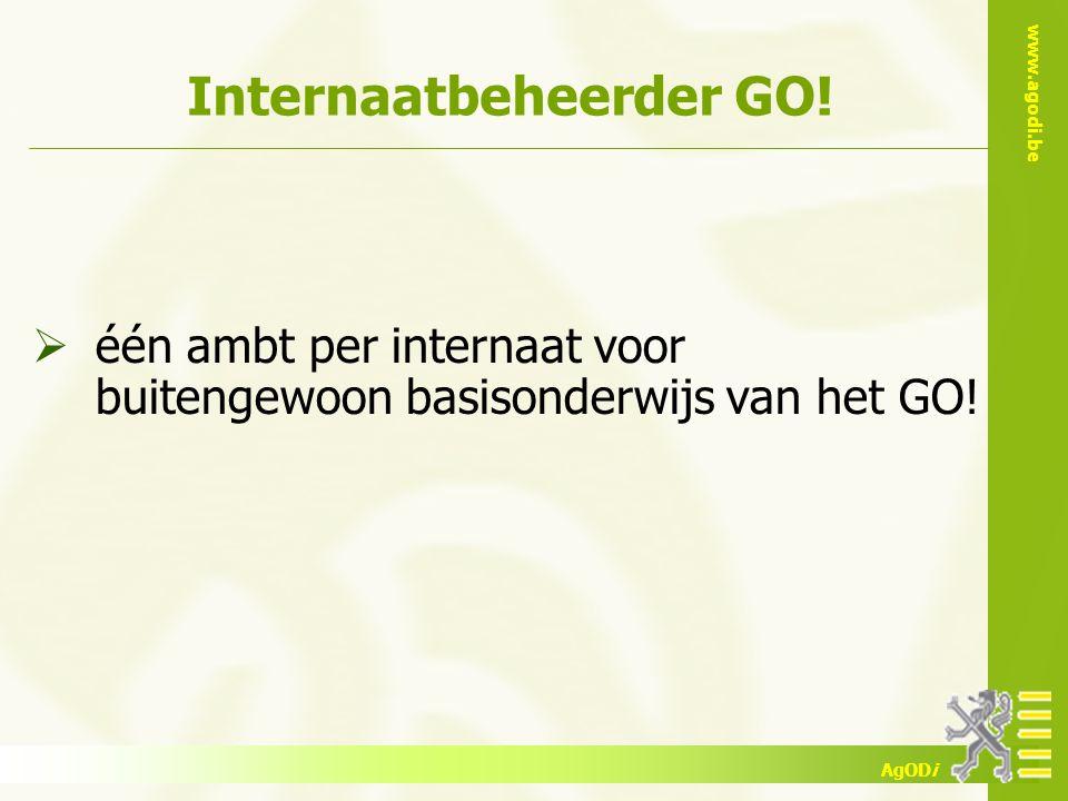 Internaatbeheerder GO!